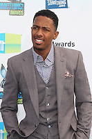 SANTA MONICA, CA - AUGUST 19: Nick Cannon at the 2012 Do Something Awards at Barker Hangar on August 19, 2012 in Santa Monica, California. Credit: mpi21/MediaPunch Inc. /NortePhoto.com<br />