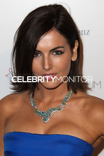 LOS ANGELES, CA - JANUARY 11: Camilla Belle at The Art of Elysium's 7th Annual Heaven Gala held at Skirball Cultural Center on January 11, 2014 in Los Angeles, California. (Photo by Xavier Collin/Celebrity Monitor)