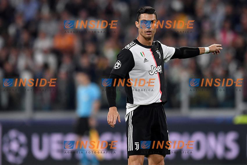 Cristiano Ronaldo of Juventus <br /> Torino 01/10/2019 Juventus Stadium <br /> Football Champions League 2019//2020 <br /> Group Stage Group D <br /> Juventus - Leverkusen <br /> Photo Andrea Staccioli / Insidefoto