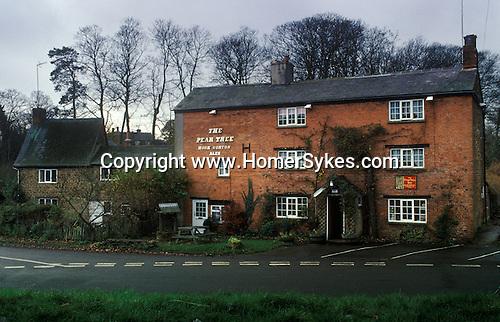 The Village Pub. The Pear Tree. Hook Norton, Oxfordshire, England.