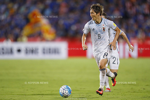 Genki Haraguchi (JPN), SEPTEMBER 6, 2016 - Football / Soccer :<br /> FIFA World Cup Russia 2018 Asian Qualifier<br /> Final Round Group B match<br /> between Thailand 0-2 Japan<br /> at Rajamangala National Stadium, Bangkok, Thailand.<br /> (Photo by Yusuke Nakanishi/AFLO SPORT)