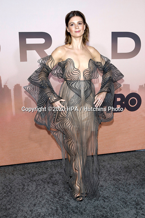 """LOS ANGELES - MAR 5:  Katja Herbers at the """"Westworld"""" Season 3 Premiere at the TCL Chinese Theater IMAX on March 5, 2020 in Los Angeles, CA"""