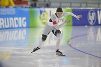 SCHAATSEN: HEERENVEEN: 15-12-2018, ISU World Cup, 500m Ladies Division B, Gabrielle Hirschbichler (GER), ©foto Martin de Jong