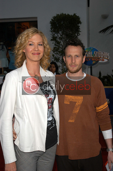 Jenna Elfman and husband Bodhi Elfman