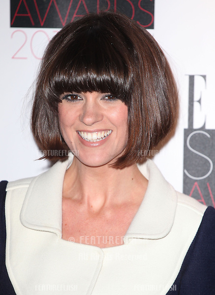 Dawn Porter arriving at the 2013 Elle Style Awards, at The Savoy, London. 11/02/2013 Picture by: Alexandra Glen / Featureflash