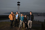 Members of We Will, an advocacy group established by young people to campaign for better youth mental health services in Cumbria, pictured in Maryport, where they meet regularly. Pictured are group members (left to right) Chloe Wilson, 17, Rebecca Woods, 16, Jasmine Dean, 17, Lucy Steel, 15, and Billy Robinson, 18.
