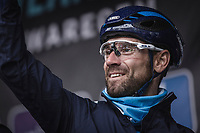Alejandro Valverde (ESP/Team Movistar) pre race. <br /> <br /> 73th Dwars Door Vlaanderen (1.UWT)<br /> 1day race: Roeselare &rsaquo; Waregem BEL (180km)