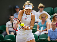 London, England, 8 th July, 2017, Tennis,  Wimbledon, Angelique Kerber (GER)<br /> Photo: Henk Koster/tennisimages.com