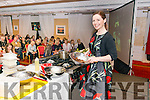 Cooking demonstration by Catherine Fulvio in the Muckross Park Hotel, Killarney last Saturday night.