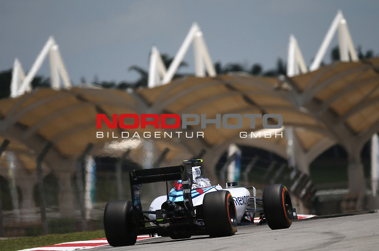 28.03.2011, Sepang-International-Circuit, Malaysia, MAL , Gro&szlig;er Preis von Malaysia / Kuala Lumpur, Training im Bild Valtteri Bottas (FIN), Williams F1 Team<br /> for the complete Middle East, Austria &amp; Germany Media usage only!<br />  Foto &copy; nph / Mathis