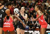 10th September 2017, PG Arena, Napier, New Zealand; Taini Jamison Netball Trophy, New Zealand versus England;  New Zealands Bailey Mes