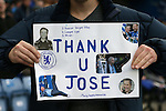 Chelsea's fans show thier support for Jose Mourinho<br /> <br /> Barclays Premier League- Chelsea vs Sunderland - Stamford Bridge - England - 19th December 2015 - Picture David Klein/Sportimage