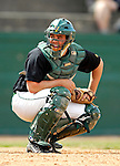 21 April 2007: University of Vermont Catamounts' Jeff Nolet, a Sophomore from Concord, MA, in action against the University of Hartford Hawks at Historic Centennial Field, in Burlington, Vermont...Mandatory Photo Credit: Ed Wolfstein Photo