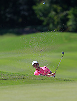Richard T Lee (CAN) on the 3rd during Round 3 of the Maybank Malaysian Open at the Kuala Lumpur Golf & Country Club on Saturday 7th February 2015.<br /> Picture:  Thos Caffrey / www.golffile.ie