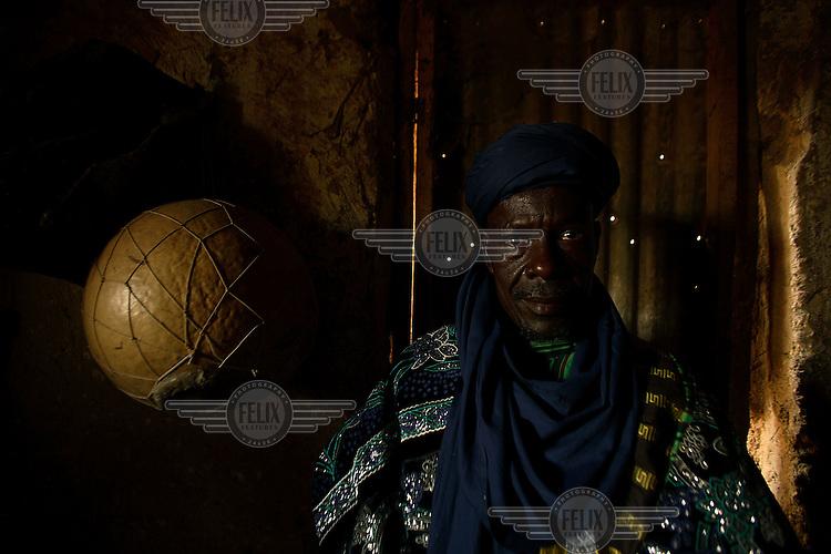 A fisherman prepares for the Argungu Fishing Festival in Northwestern Nigeria, an annual event inaugurated in 1934...