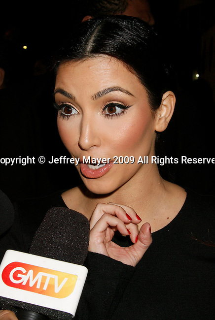 BEVERLY HILLS, CA. - October 07: Kim Kardashian  arrives at the Famous Cupcakes Beverly Hills Grand Opening Hosted By The Kardashian Family on October 7, 2009 in Beverly Hills, California..