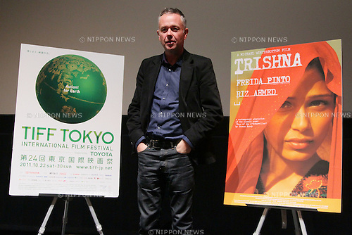 "Michael Winterbottom, October 26, 2011 : Director Michael Winterbottom attends a stage greeting for the film ""Trishna"" during the 24th Tokyo International Film Festival in Roppongi, Tokyo, japan. (Photo by Yusuke Nakanishi/AFLO) [1090]"