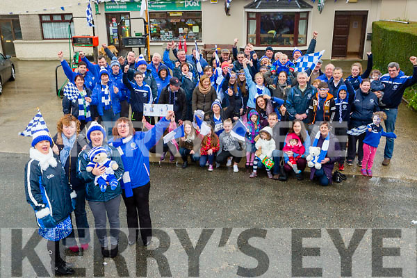 Margaret Lynch-Crowley, Anne O'Sullivan, Mary Egan, Terese Morley  and the fans of Templenoe are all set for the All Ireland final in Croke Park