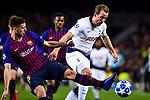 UEFA Champions League 2018/2019 - Matchday 6.<br /> FC Barcelona vs Tottenham Hotspur FC: 1-1.<br /> Lenglet vs Kane.