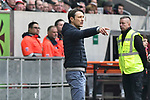 14.04.2019, Merkur Spiel-Arena, Duesseldorf, GER, DFL, 1. BL, Fortuna Duesseldorf vs FC Bayern Muenchen, DFL regulations prohibit any use of photographs as image sequences and/or quasi-video<br /> <br /> im Bild Niko Kovac (FC Bayern M&uuml;nchen / Muenchen) Gestik / Geste / gestikuliert / <br /> <br /> Foto &copy; nph/Mauelshagen