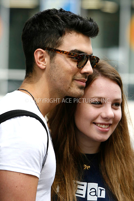 WWW.ACEPIXS.COM . . . . . .August 18, 2011...New York City...Joe Jonas leaving his hotel on August 18, 2011 in New York City.....Please byline: CURTIS MEANS - ACEPIXS.COM.. . . . . . ..Ace Pictures, Inc: ..tel: (212) 243 8787 or (646) 769 0430..e-mail: info@acepixs.com..web: http://www.acepixs.com .