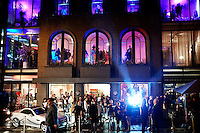 CAPE TOWN, SOUTH AFRICA - JULY 26: Guests arrive during an installation show at the new Klûk CGDT flagship store during Mercedes-Benz Fashion Week on July 26, 2014, in Cape Town, South Africa. Klûk CGDT, created by the designers Malcolm KLûK and Christiaan Gabriel Du Toit. The elite of Cape Town came out for the launch of the store and the late night party. (Photo by Per-Anders Pettersson)