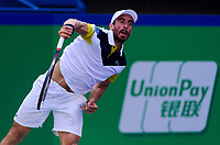 PABLO CUEVAS (URU)<br /> <br /> TENNIS - ROLEX SHANGHAI MASTERS - QI ZHONG TENNIS CENTER - MINHANG DISTRICT - SHANGHAI - CHINA - ATP 1000 - 2017 <br /> <br /> <br /> <br /> &copy; TENNIS PHOTO NETWORK