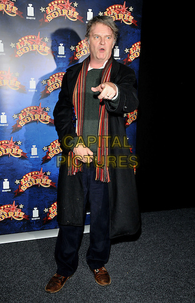 Paul Merton attends the &quot;La Soiree&quot; VIP press night, La Soiree Spiegeltent, Southbank Centre, Belvedere Road, London, England, UK, on Friday 06 November 2015. <br /> CAP/CAN<br /> &copy;Can Nguyen/Capital Pictures