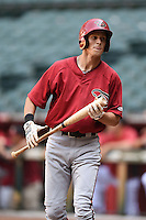 Arizona Diamondbacks outfielder Colin Bray (32) during an Instructional League game against the Oakland Athletics on October 10, 2014 at Chase Field in Phoenix, Arizona.  (Mike Janes/Four Seam Images)