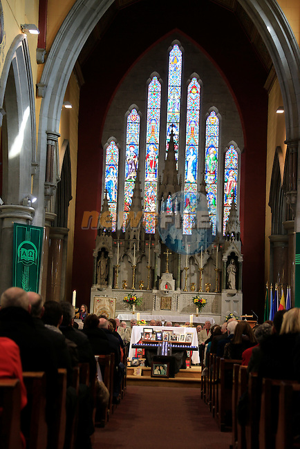 Sosad Mass in Saint Augustine's Church<br /> Picture Fran Caffrey / Newsfile