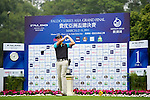Daniel Owen of England tees off on the 1st hole during the Round 1 of the Faldo Series Asia Grand Final at Mission Hills on March 2, 2011 in Shenzhen, China. Photo by Raf Sanchez / Faldo Series