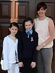 Jessical Smyth with Aoife and Margaret at the Ballymakenny NS Confirmation....Photo NEWSFILE/Jenny Matthews.(Photo credit should read Jenny Matthews/NEWSFILE)....This Picture has been sent you under the condtions enclosed by:.Newsfile Ltd..The Studio,.Millmount Abbey,.Drogheda,.Co Meath..Ireland..Tel: +353(0)41-9871240.Fax: +353(0)41-9871260.GSM: +353(0)86-2500958.email: pictures@newsfile.ie.www.newsfile.ie.FTP: 193.120.102.198.