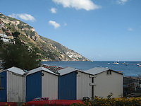 Cabanas, Amalfi Coast, Italy