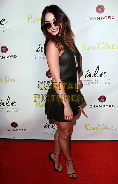 13 March 2014 - Beverly Hills, California - Vanessa Hudgens. Alessandra Ambrosio. Alessandra Ambrosio Launch of &quot;ale by Alessandra&quot; held at Planet Blue.  <br /> CAP/ADM/TB<br /> &copy;Theresa Bouche/AdMedia/Capital Pictures