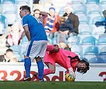 24.3.2018: Rangers legends match:<br /> Grado and Ronald Watterus