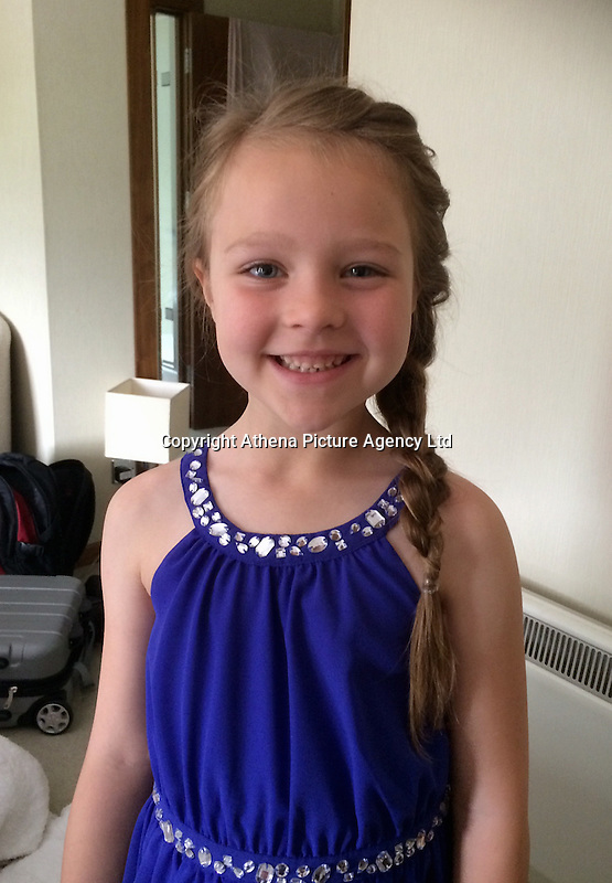 """COPY BY TOM BEDFORD<br /> Pictured: Brooke Howes<br /> Re: A seven-year-old girl was kicked, punched and scratched for singing her favourite pop song in school.<br /> Little Brooke Howes came home in tears saying she was being bullied because she humms the tunes to herself. <br /> Her mother Lianne, 26, witnessed the latest attack as she waited to pick her little girl up from school.<br /> Lianne was appalled when she saw the bright red scratch marks all over Brooke's back.<br /> Furious Lianne said: """"She was walking out of school when a boy came behind her and scrammed her back.<br /> """"She was wearing a summer dress and cardigan so it must have been done with some force to cause marks like that through her clothing.<br /> """"Brooke is really upset - she is scared of going to school."""""""