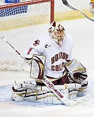 John Muse (BC - 1) - The Boston College Eagles defeated the University of Minnesota Golden Gophers 5-2 on Saturday, March 29, 2008, in the NCAA Northeast Regional Semi-Final at the DCU Center in Worcester, Massachusetts.