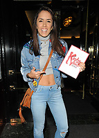 Janette Manrara at the &quot;Kinky Boots&quot; 2nd birthday theatre performance, Adelphi Theatre, The Strand, London, England, UK, on Tuesday 12 September 2017.<br /> CAP/CAN<br /> &copy;CAN/Capital Pictures
