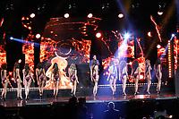 SÃO PAULO, SP, 25.03.2017 - MISS-SÃO PAULO -  Candidatas durante o Miss São Paulo BE Emotion 2017 no Palácio de Convenções do Anhembi na região norte de São Paulo na noite desta sábado, 25. (Foto: Nelson Gariba/Brazil Photo Press)