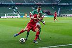 Florian Wirtz   (Leverkusen #27),<br /> LEONARDO BITTENCOURT  (WERDER BREMEN #10)<br /> <br /> Sport: Fussball: 1. Bundesliga: Saison 19/20: <br /> 26. Spieltag: SV Werder Bremen vs Bayer 04 Leverkusen, 18.05.2020<br /> <br /> Foto ©  gumzmedia / Nordphoto / Andreas Gumz / POOL <br /> <br /> Nur für journalistische Zwecke! Only for editorial use!<br />  DFL regulations prohibit any use of photographs as image sequences and/or quasi-video.