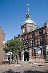 Historic city gatehouse building, the Groothoofdspoort, Dordrecht, Netherlands