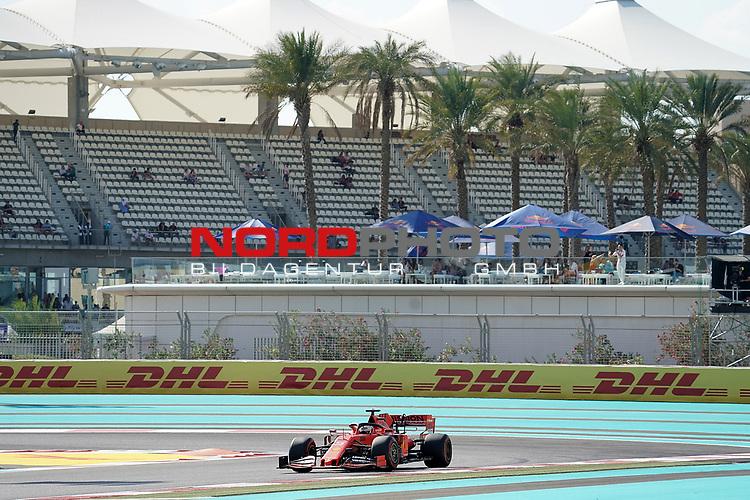 29.11.2019, Yas Marina Circuit, Abu Dhabi, FORMULA 1 ETIHAD AIRWAYS ABU DHABI GRAND PRIX 2019<br />, im Bild<br />Sebastian Vettel (GER#5), Scuderia Ferrari Mission Winnow<br /> <br /> Foto © nordphoto / Bratic