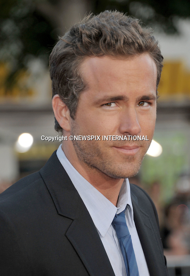 """RYAN REYNOLDS.attends the World Premiere of """"The Change-Up"""" at the Village Theatre, Westwood, Los Angeles_01/08/2011.Mandatory Photo Credit: ©Crosby/Newspix International. .**ALL FEES PAYABLE TO: """"NEWSPIX INTERNATIONAL""""**..PHOTO CREDIT MANDATORY!!: NEWSPIX INTERNATIONAL(Failure to credit will incur a surcharge of 100% of reproduction fees).IMMEDIATE CONFIRMATION OF USAGE REQUIRED:.Newspix International, 31 Chinnery Hill, Bishop's Stortford, ENGLAND CM23 3PS.Tel:+441279 324672  ; Fax: +441279656877.Mobile:  0777568 1153.e-mail: info@newspixinternational.co.uk"""