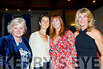 Attending the Tralee Bay Swimmimg club social in the Meadowlands hotel, Tralee last Saturday night were L-R Dolores Galligher, Derrymore, Mary Fitzsimons&Caroline Corkery, Tralee and bernie O'Mahony, Banna.