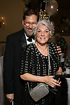 David Staller and Tyne Daly attends the Gingold Theatrical Group's Golden Shamrock Gala at 3 West Club on March 16, 2019 in New York City.