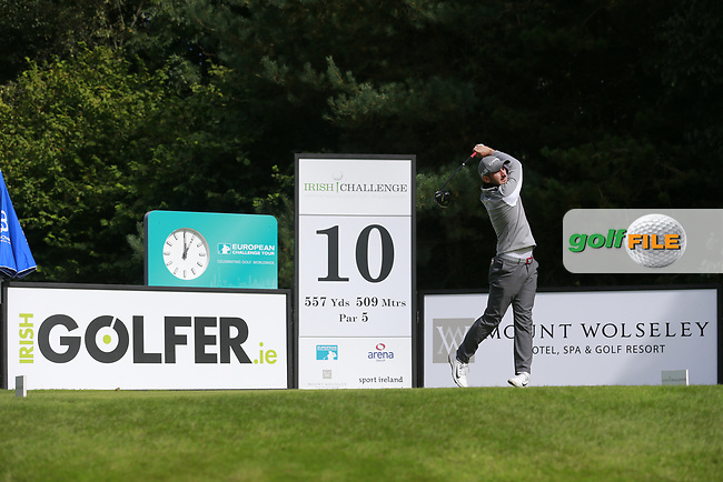 Petr Gal (CZE) during round 1 of the Irish Challenge, Mount Wolseley Hotel and Golf Resort, Tullow, Co Carlow, Ireland 14/09/2017<br /> Picture: Fran Caffrey / Golffile<br /> <br /> All photo usage must carry mandatory copyright credit (&copy; Golffile | Fran Caffrey)
