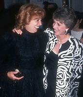 Beverly Sills Carol Burnett <br /> 1992<br /> Photo By John Barrett/CelebrityArchaeology.com<br /> <br /> http://CelebrityArchaeology.com
