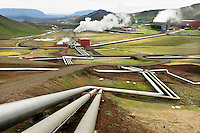 Krafla Geothermal Power Plant, Iceland