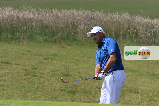 Darren Fichardt (RSA) on the 3rd during Round 4 of the Aberdeen Standard Investments Scottish Open 2019 at The Renaissance Club, North Berwick, Scotland on Sunday 14th July 2019.<br /> Picture:  Thos Caffrey / Golffile<br /> <br /> All photos usage must carry mandatory copyright credit (© Golffile | Thos Caffrey)