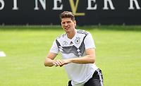 Mario Gomez (Deutschland Germany) - 31.05.2018: Training der Deutschen Nationalmannschaft zur WM-Vorbereitung in der Sportzone Rungg in Eppan/Südtirol